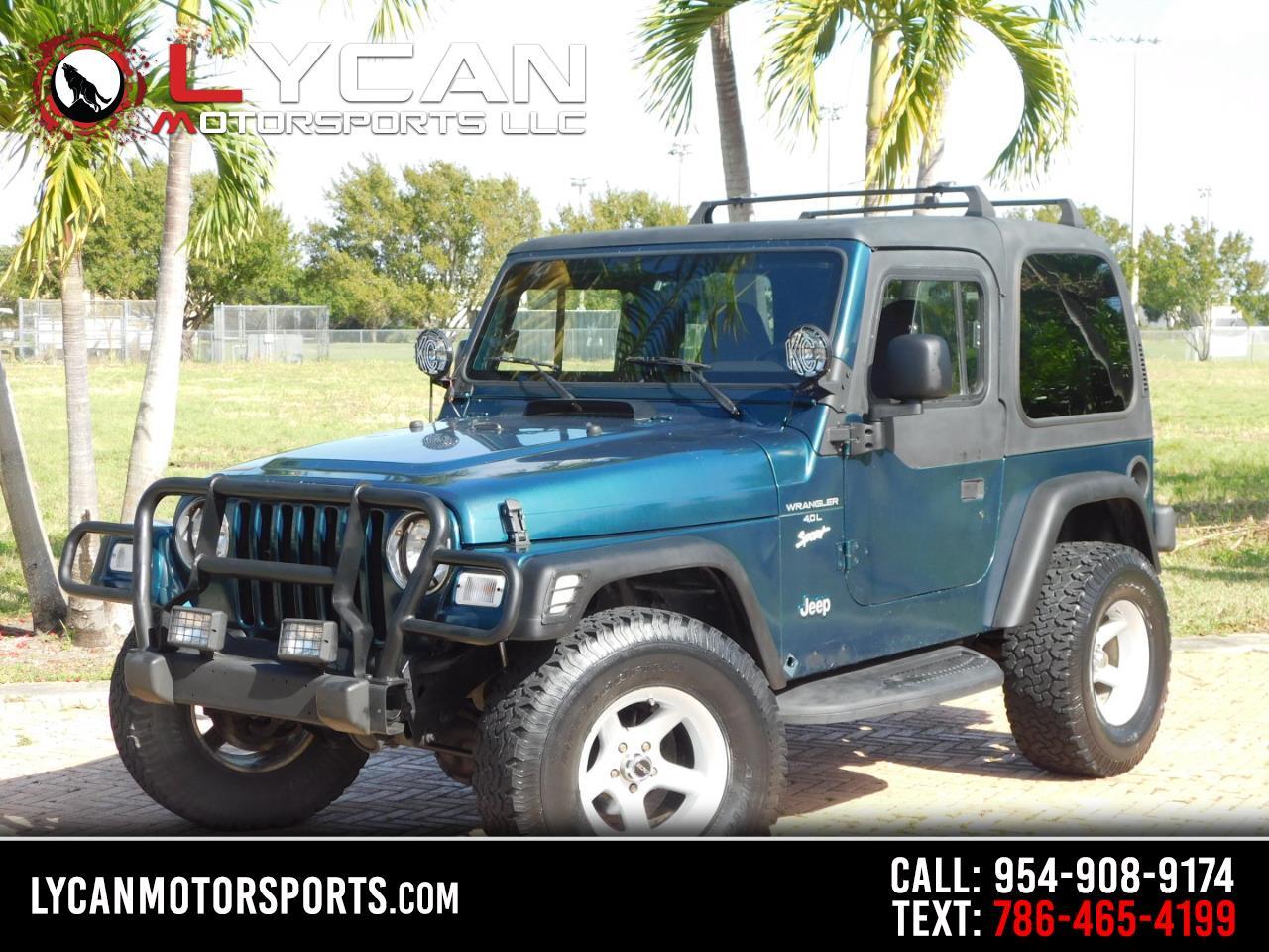 Jeep Wrangler Sport 1998