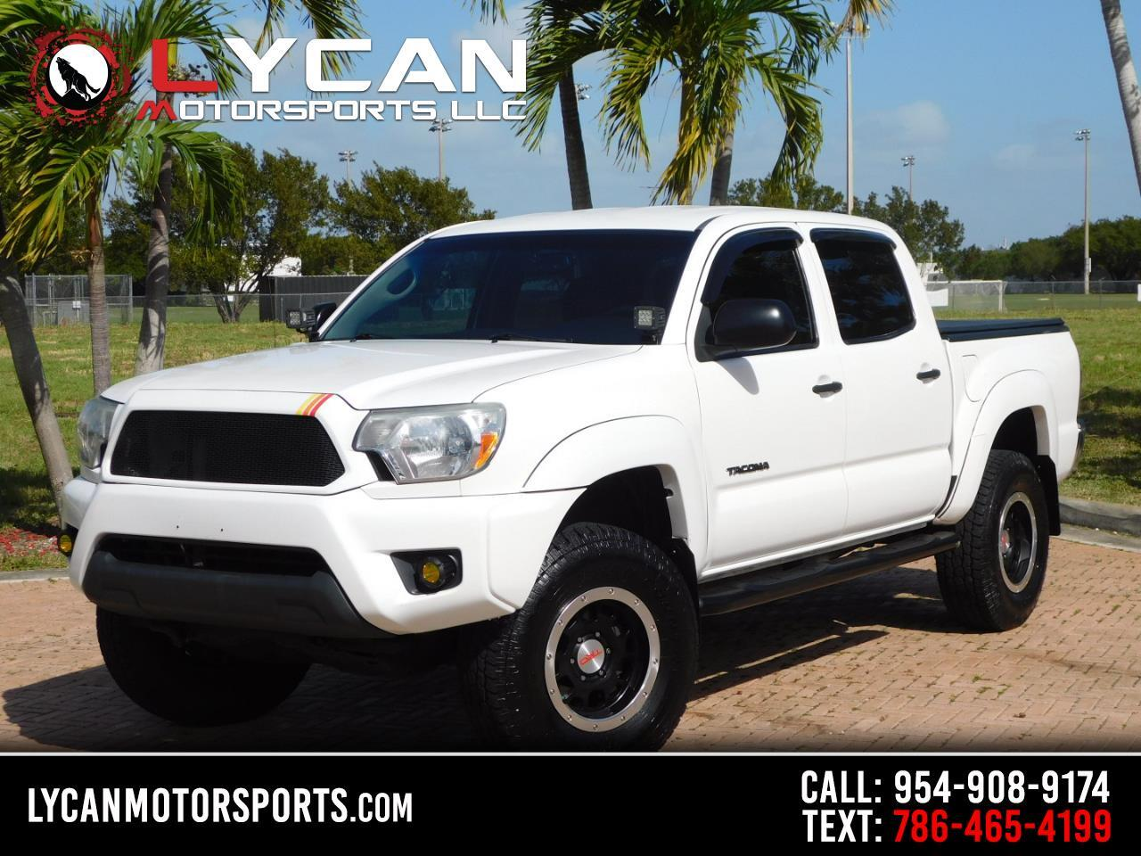 Toyota Tacoma 4WD Double Cab LB V6 AT TRD Off Road (Natl) 2012