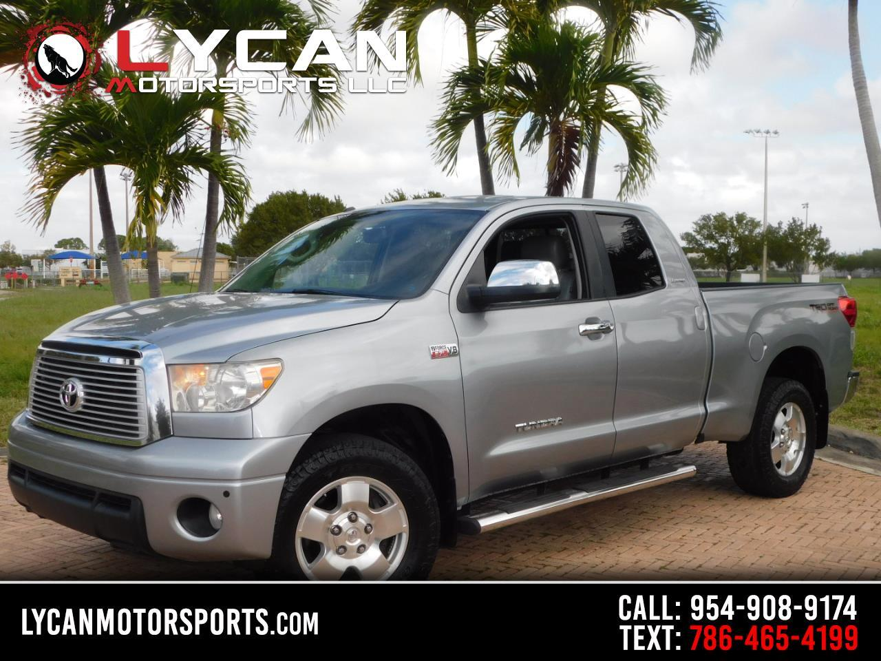 Toyota Tundra Limited 5.7L FFV Double Cab 4WD 2012
