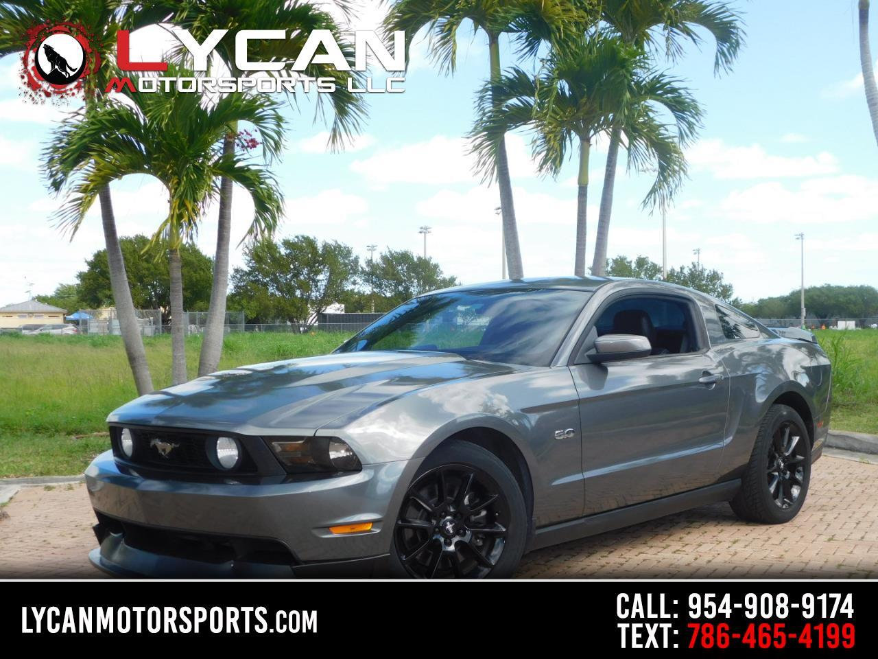 Ford Mustang 2dr Cpe GT Premium 2011