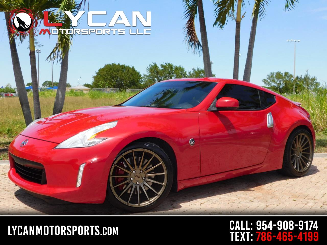 Nissan 370Z Coupe Sport Tech Auto 2014