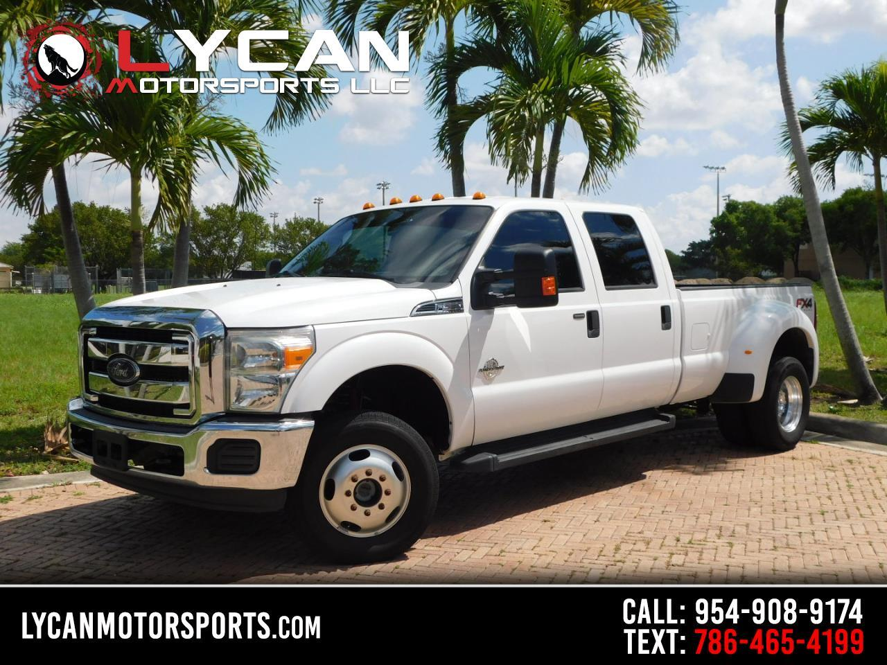 Ford F-350 SD XLT Crew Cab Long Bed DRW 4WD 2014
