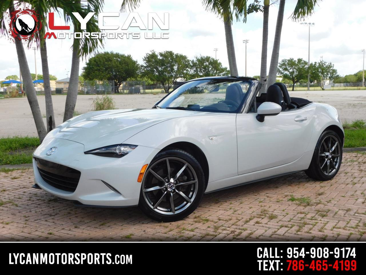 Mazda MX-5 Miata Grand Touring 6AT 2016