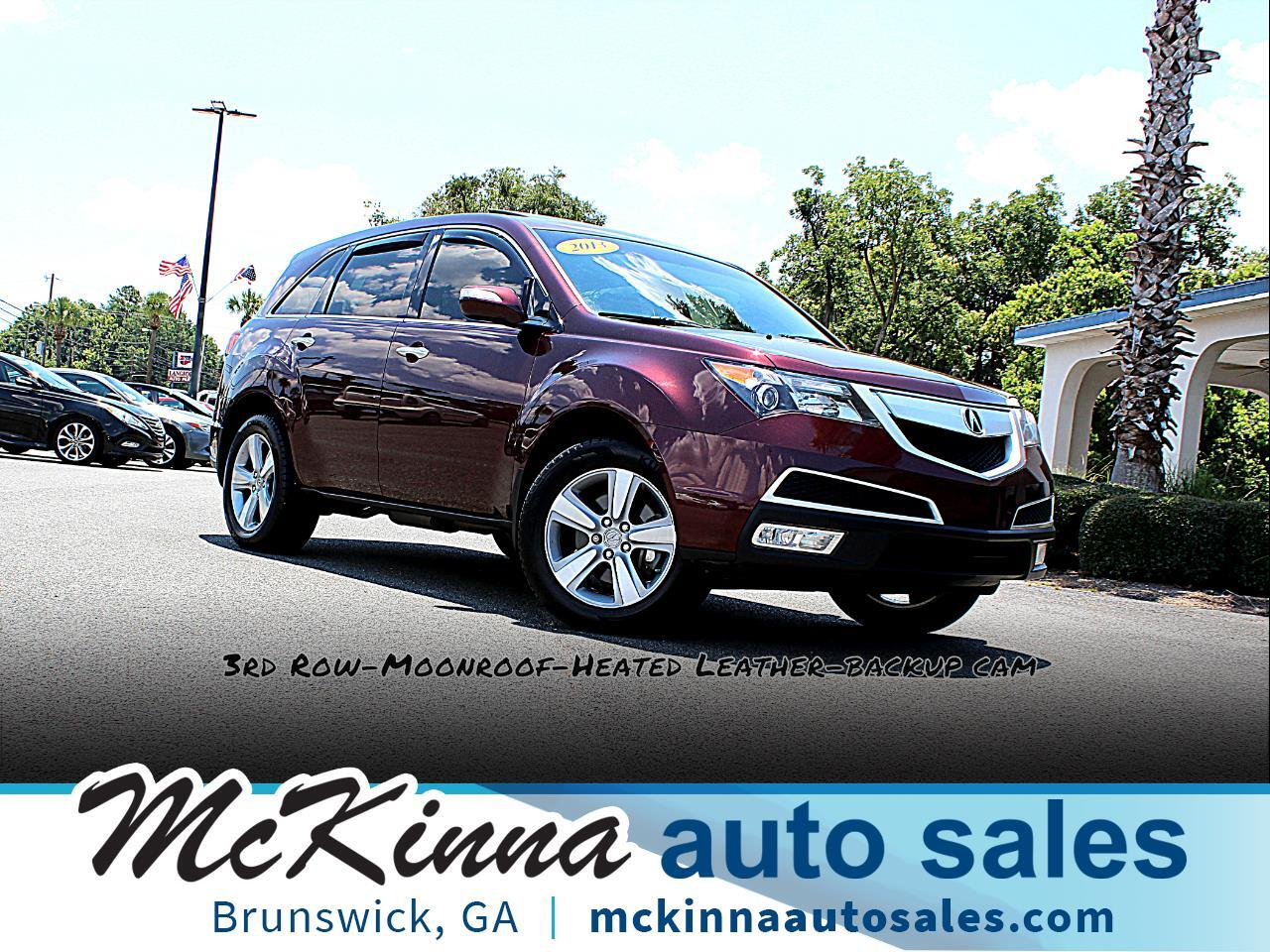 2013 Acura MDX 4WD 4dr Sport Pkg