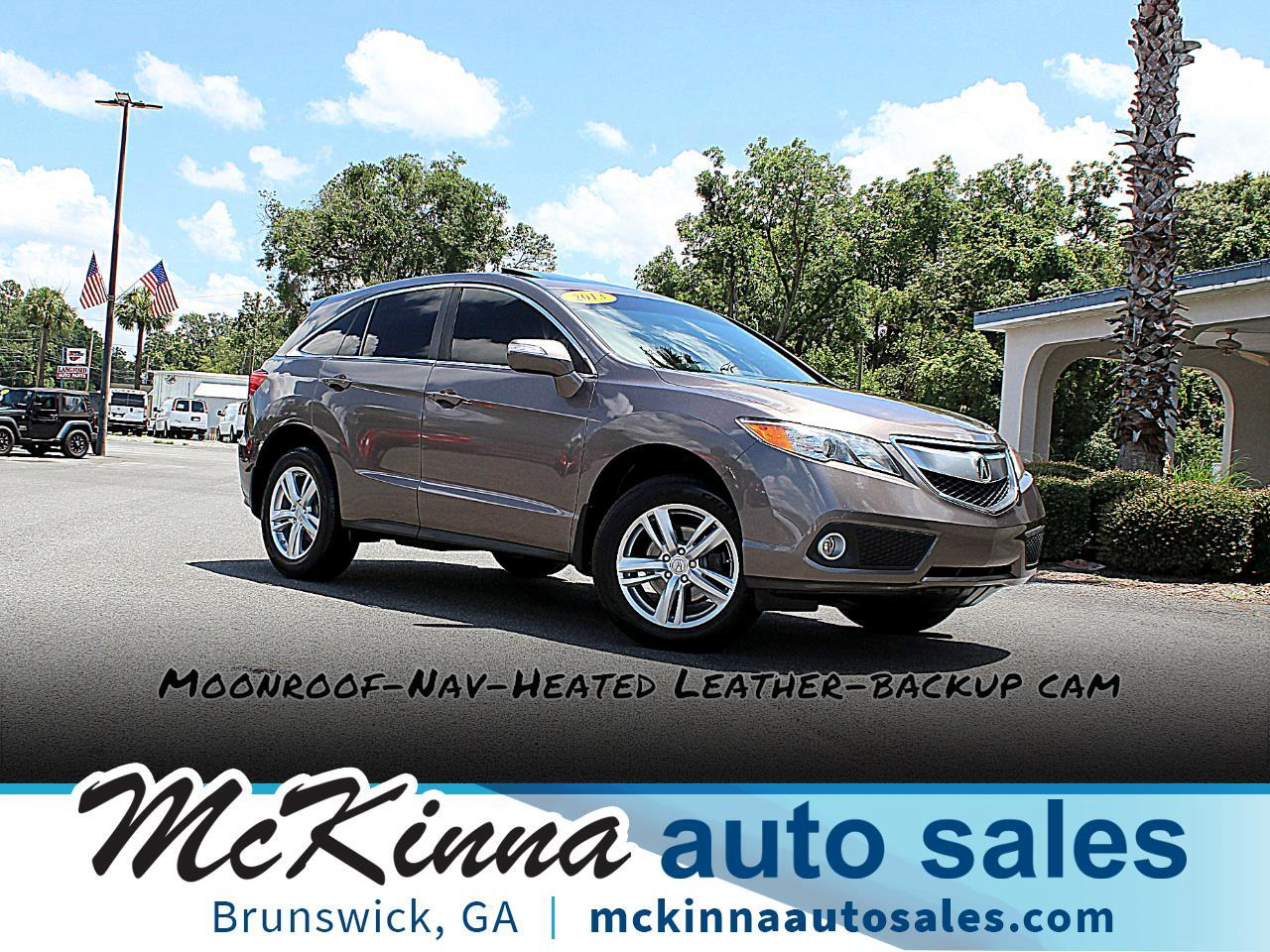 2013 Acura RDX 6-Spd AT w/ Technology Package