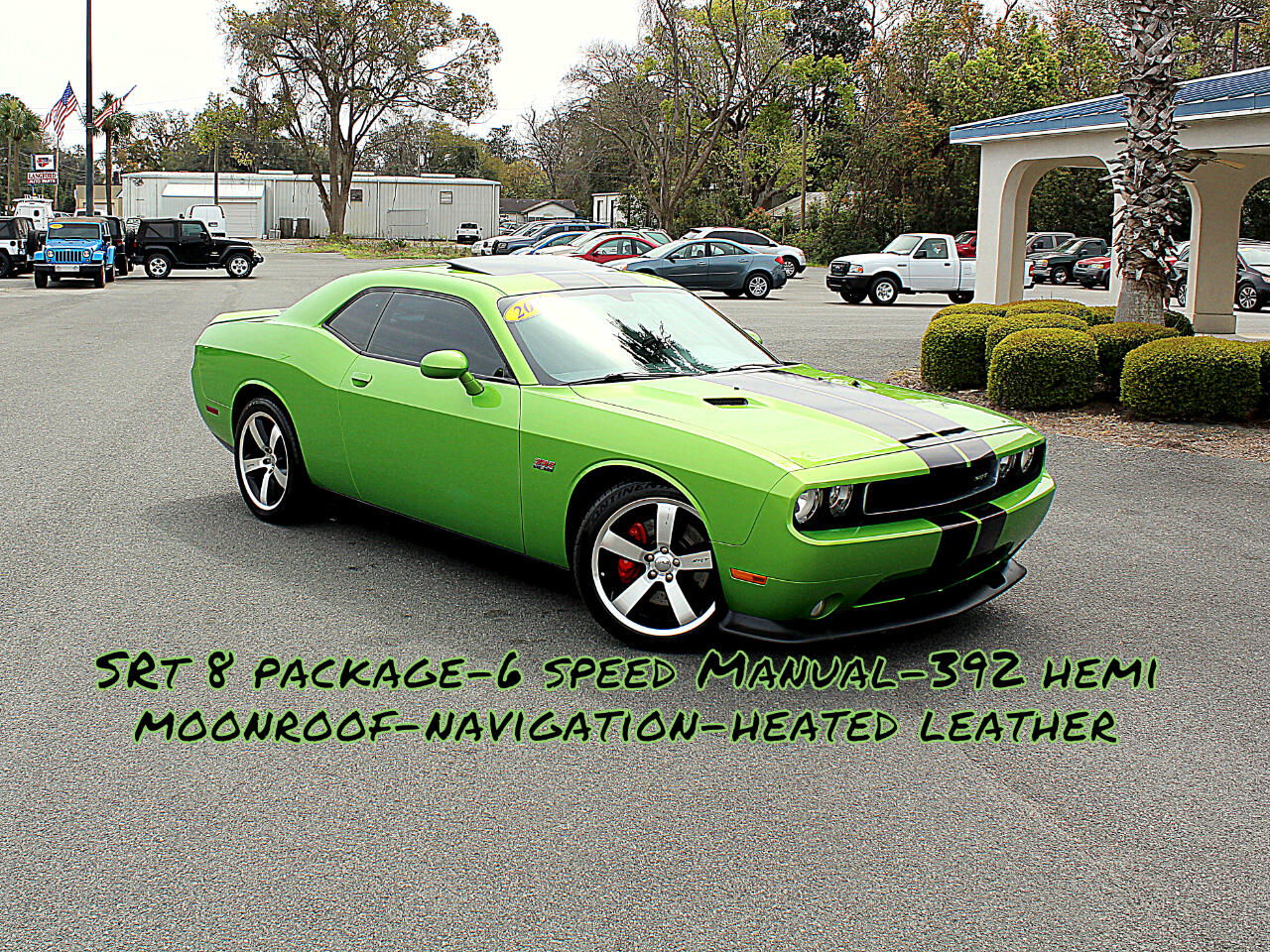 2011 Dodge Challenger SRT8