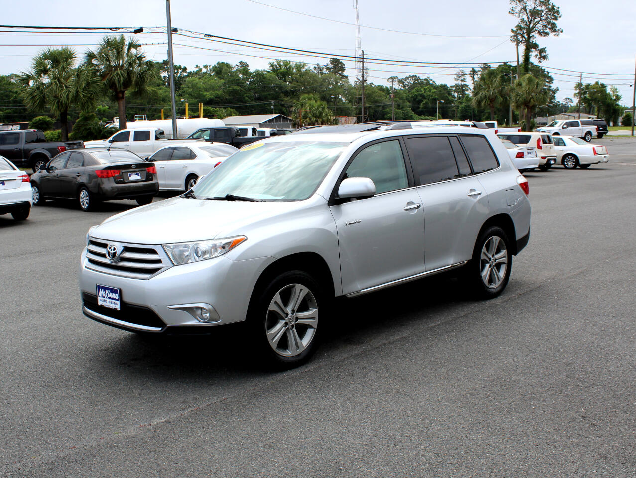 2013 Toyota Highlander 4dr V6 4WD Limited w/3rd Row (Natl)