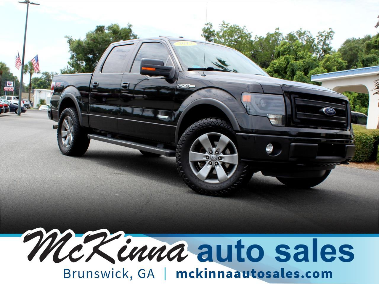 2013 Ford F-150 FX4 SuperCrew 5.5-ft. Bed 4WD