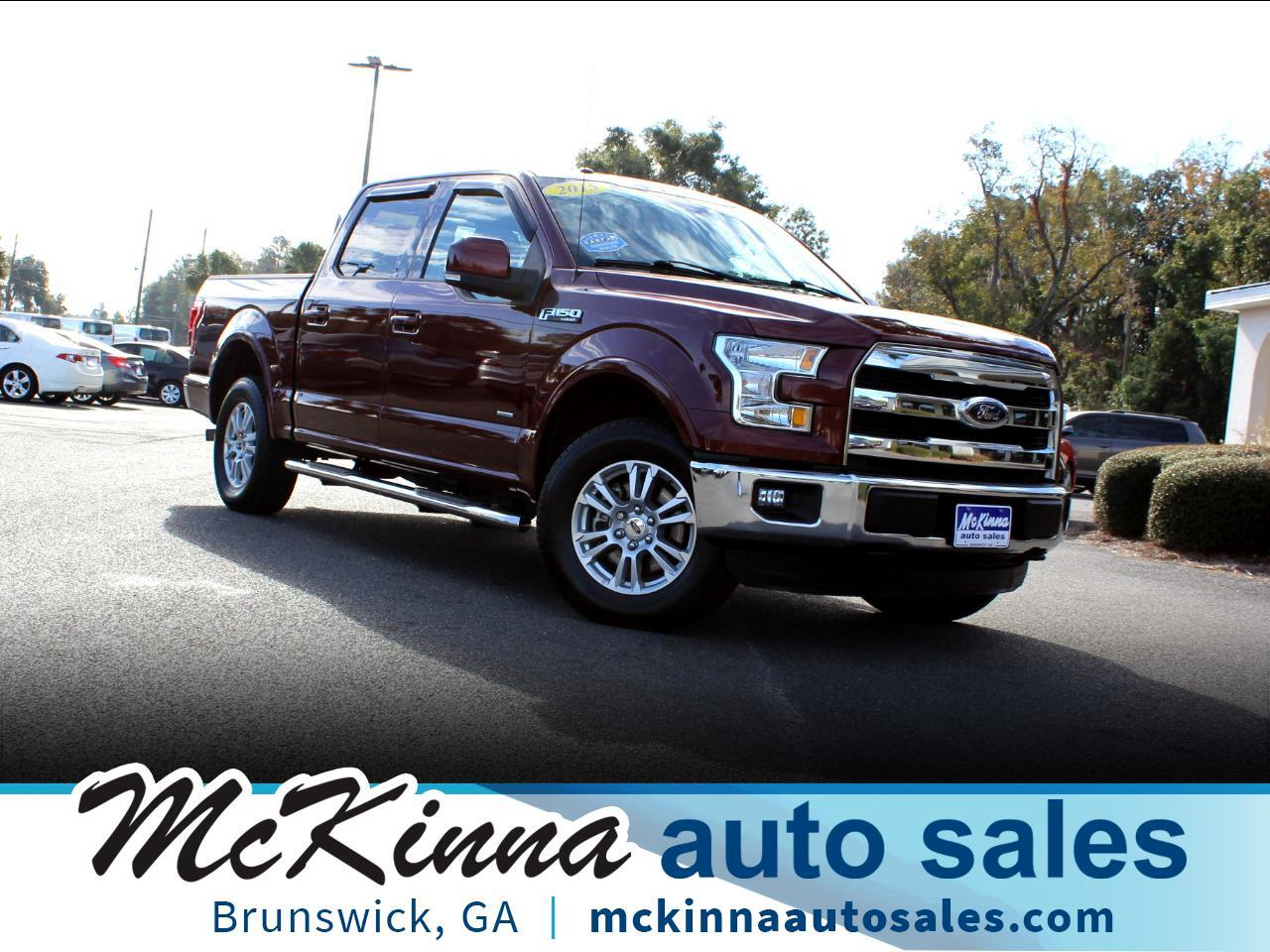 "Ford F-150 2WD SuperCrew 139"" Lariat 2015"
