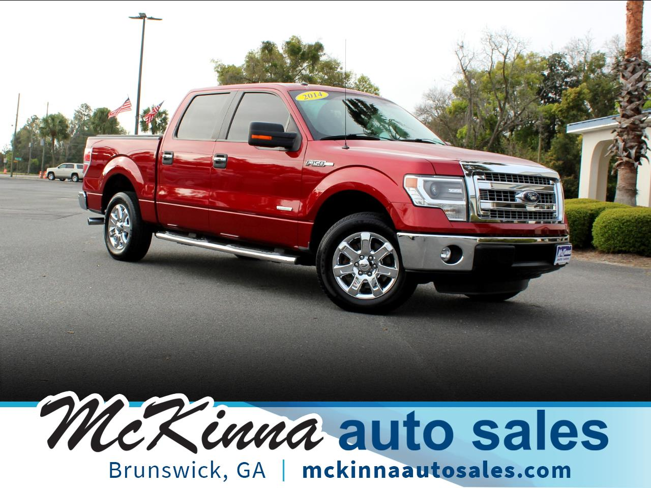 "Ford F-150 2WD SuperCrew 139"" XLT 2014"