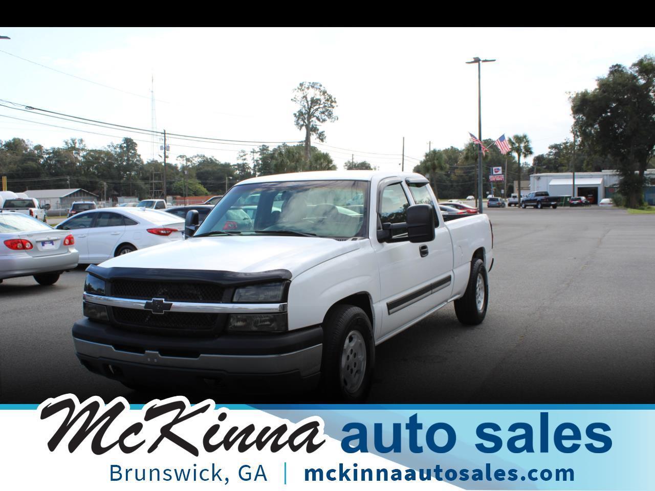 "Chevrolet Silverado 1500 Ext Cab 143.5"" WB Work Truck 2003"