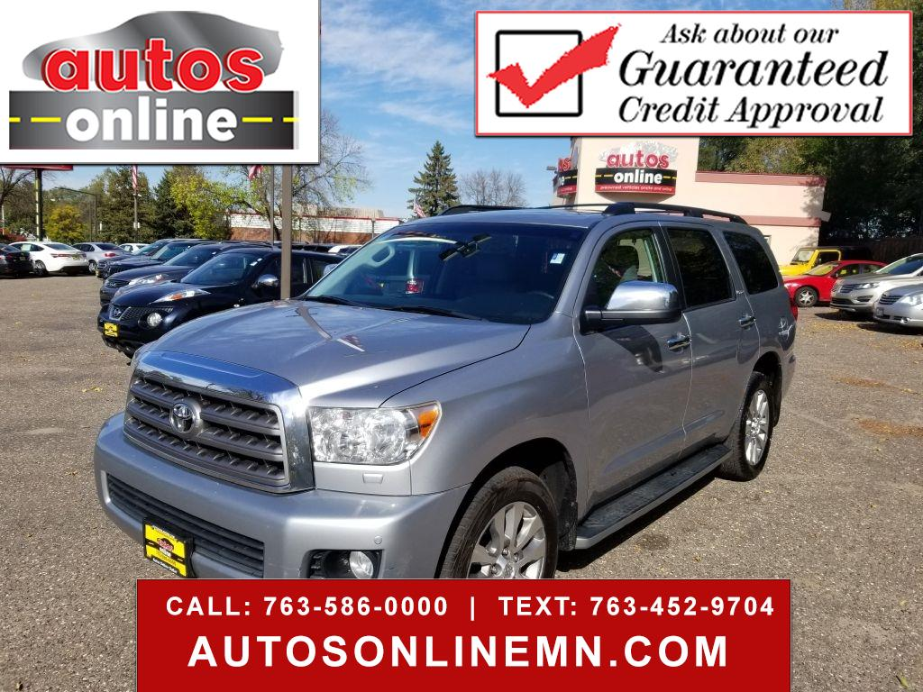 Toyota Sequoia Limited 4WD 2014