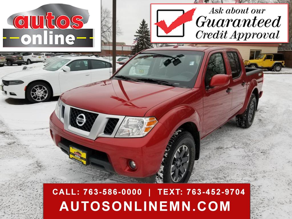 Nissan Frontier PRO-4X Crew Cab 5AT 4WD 2018