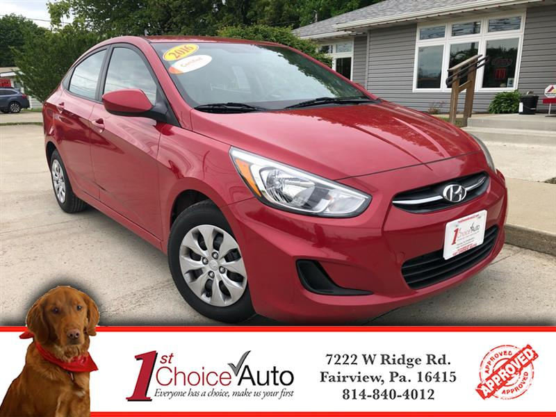 Hyundai Accent SE 4-Door 6A 2016