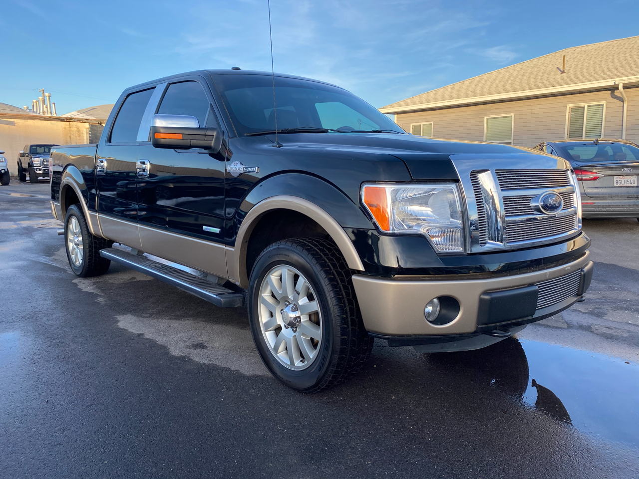 "Ford F-150 4WD SuperCrew 139"" King Ranch 2012"