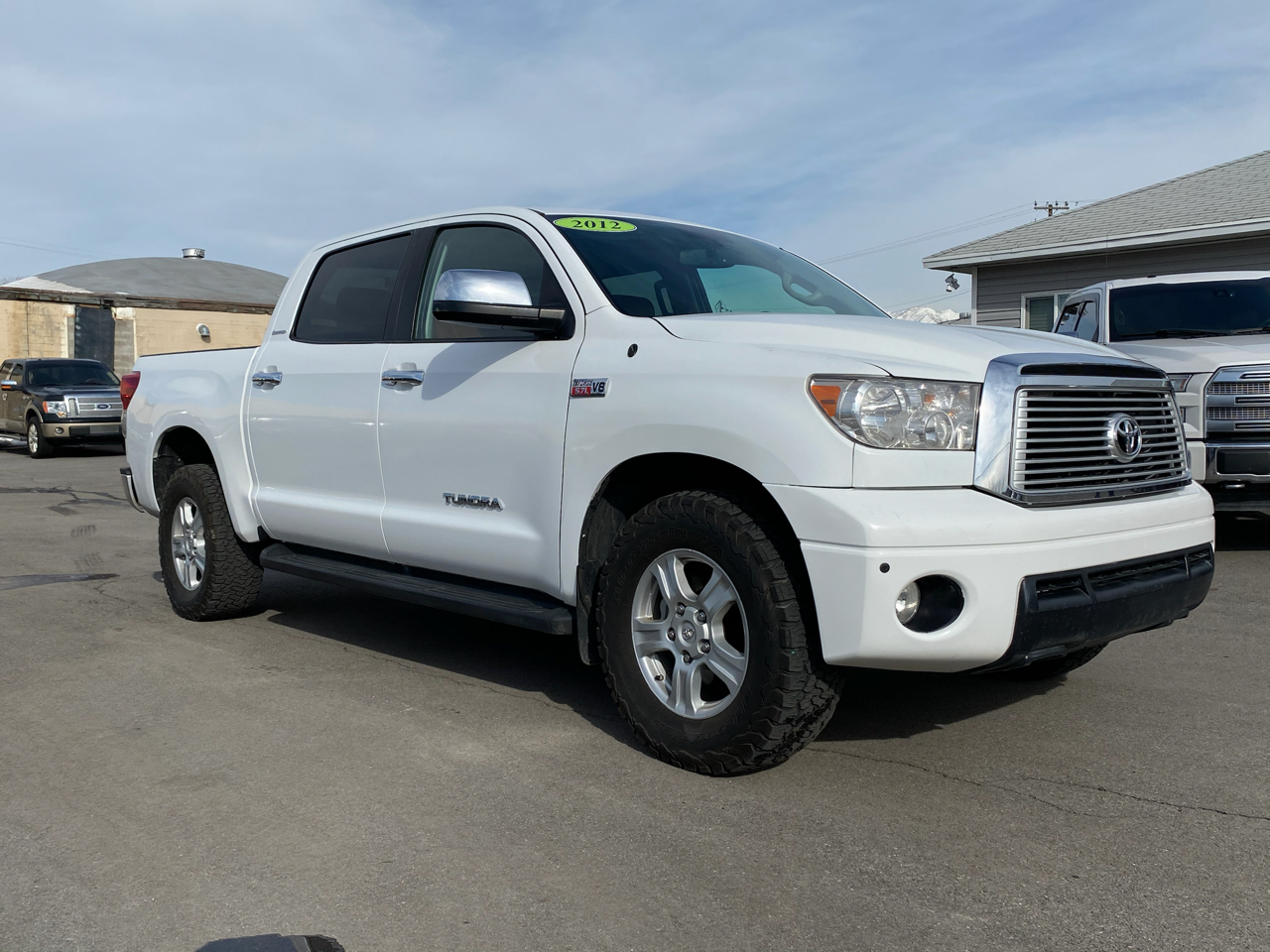 Toyota Tundra Limited CrewMax 4WD 2012