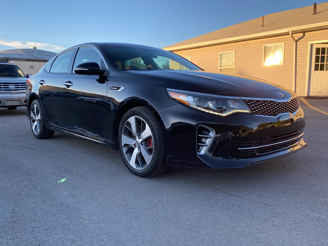 Kia Optima SX Turbo 2017