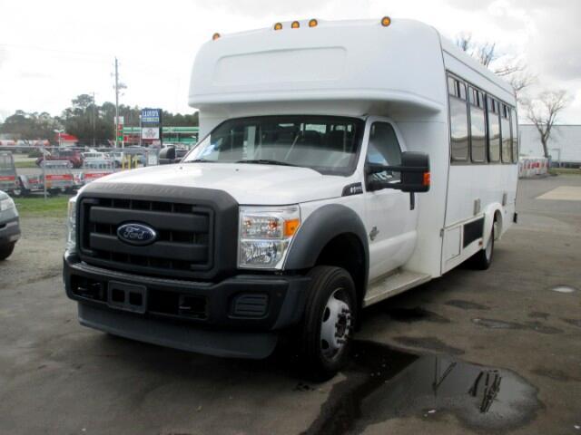 2012 Ford F-550 REGULAR CAB MINI TOUR BUS