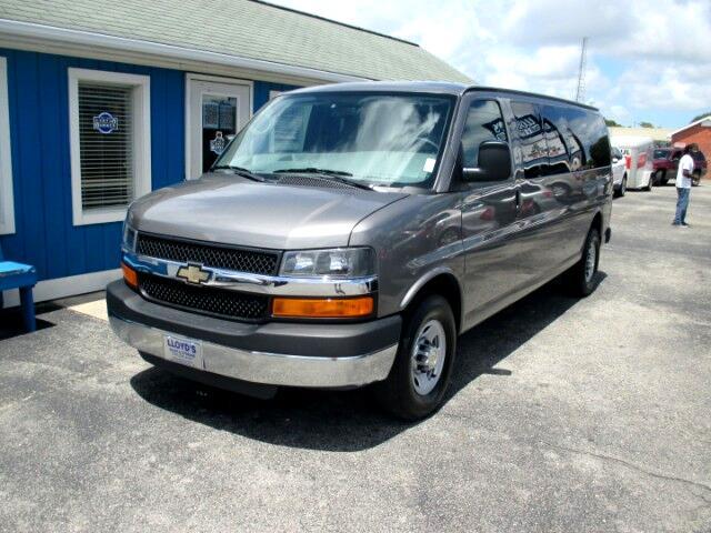 2011 Chevrolet Express LT 3500 Extended 15 Passenger Van