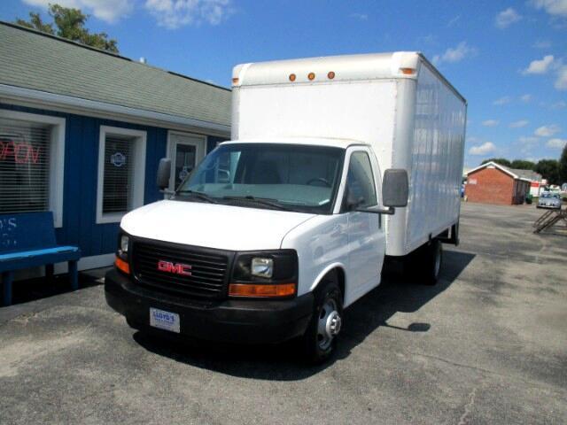 "2008 GMC Savana G3500 DRW 14"" Box Truck"