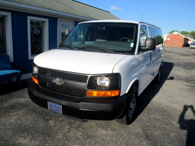 2010 Chevrolet Express 1500 LS 8 Passenger Van