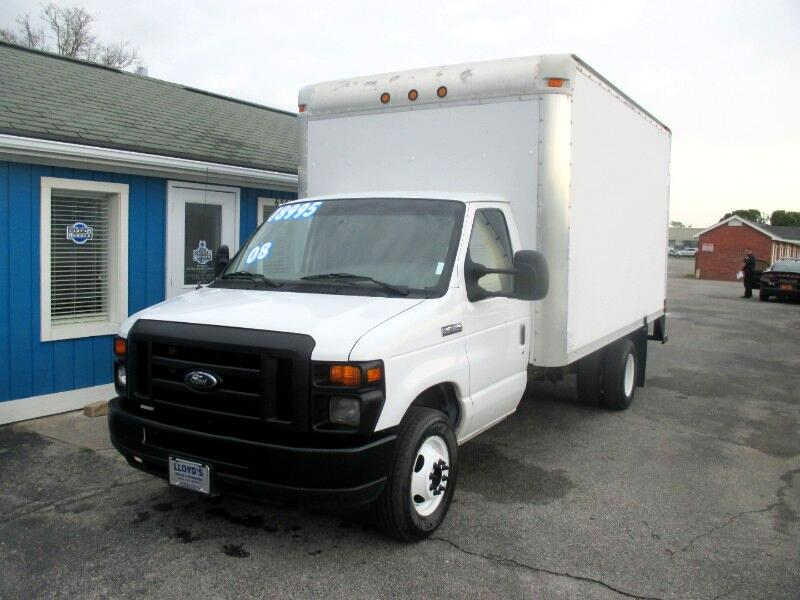 2008 Ford Econoline E-350 SUPER DUTY 14' BOX TRUCK