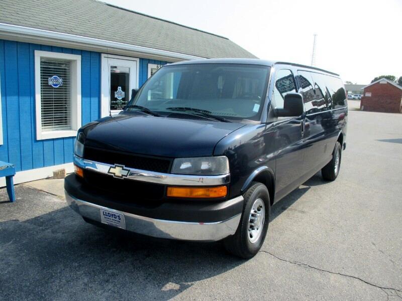 2012 Chevrolet Express LS 3500 Extended 15 Passenger Van