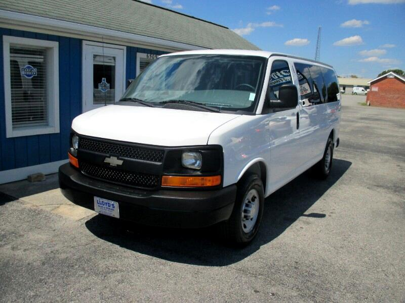 2014 Chevrolet Express LS 2500   12 Passenger Van