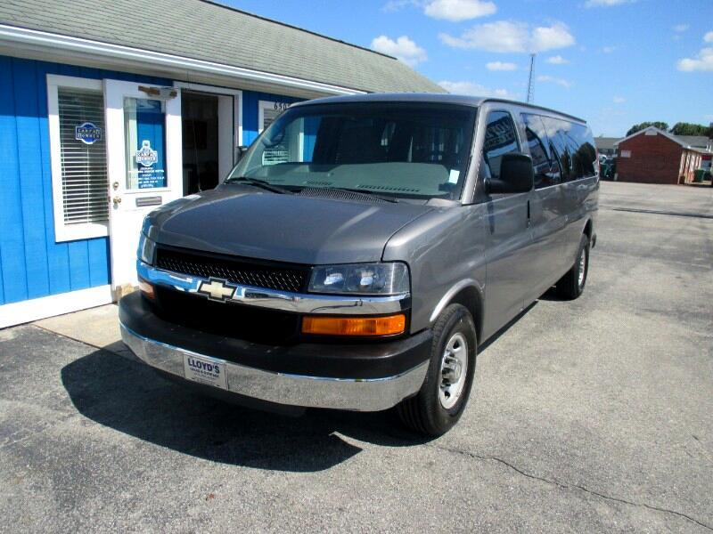 2013 Chevrolet Express LT 3500 Extended 15 Passenger Van
