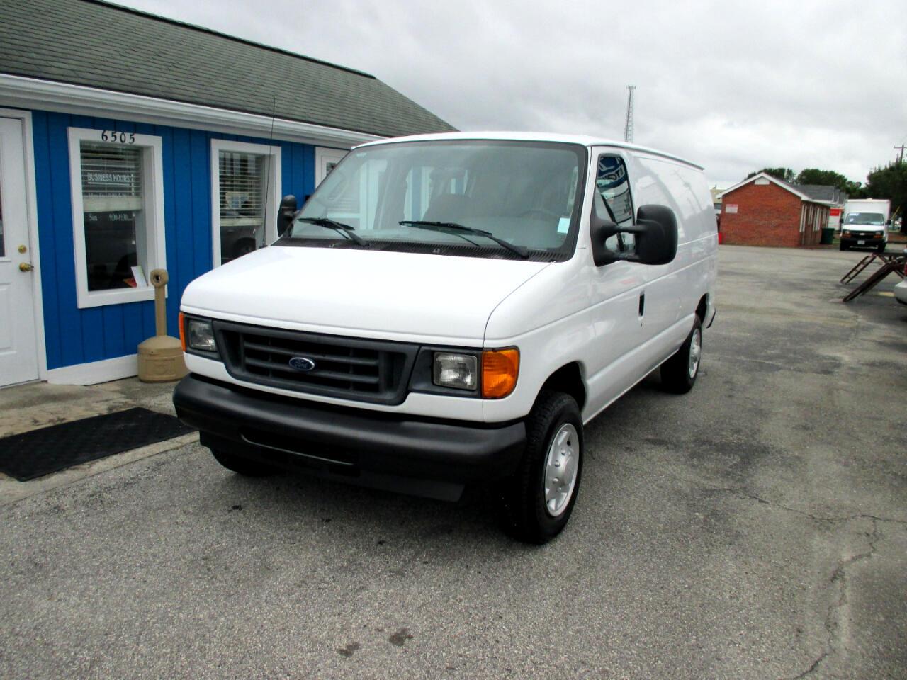 Ford Econoline Cargo Van E-150 Commercial 2007