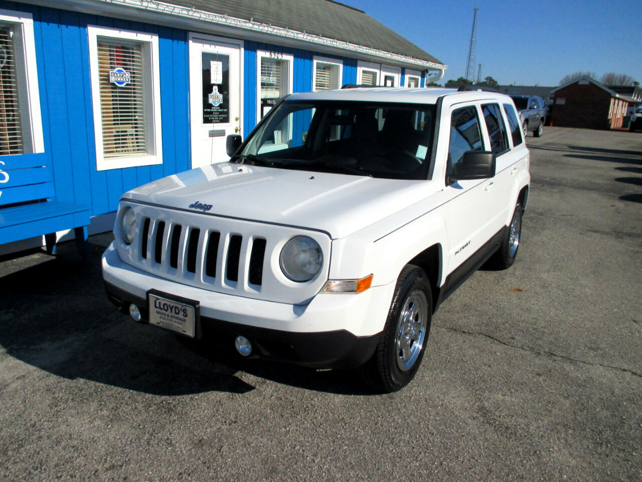 Jeep Patriot FWD 4dr Sport 2014
