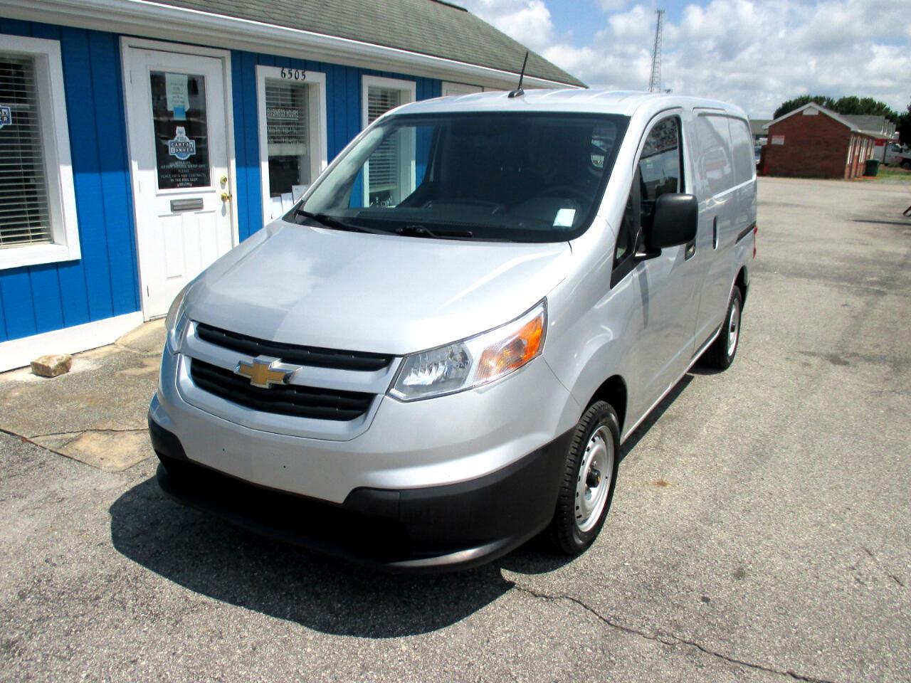 """Chevrolet City Express Cargo Van FWD 115"""" LT 2017"""