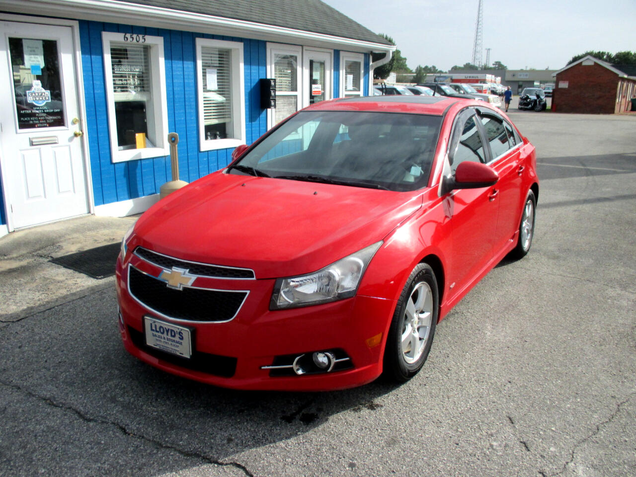 Chevrolet Cruze 4dr Sdn LT w/1LT 2012