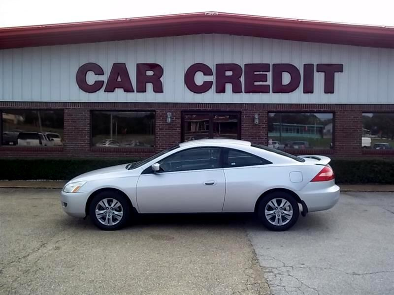 2003 Honda Accord LX Coupe AT with Front Side Airbags