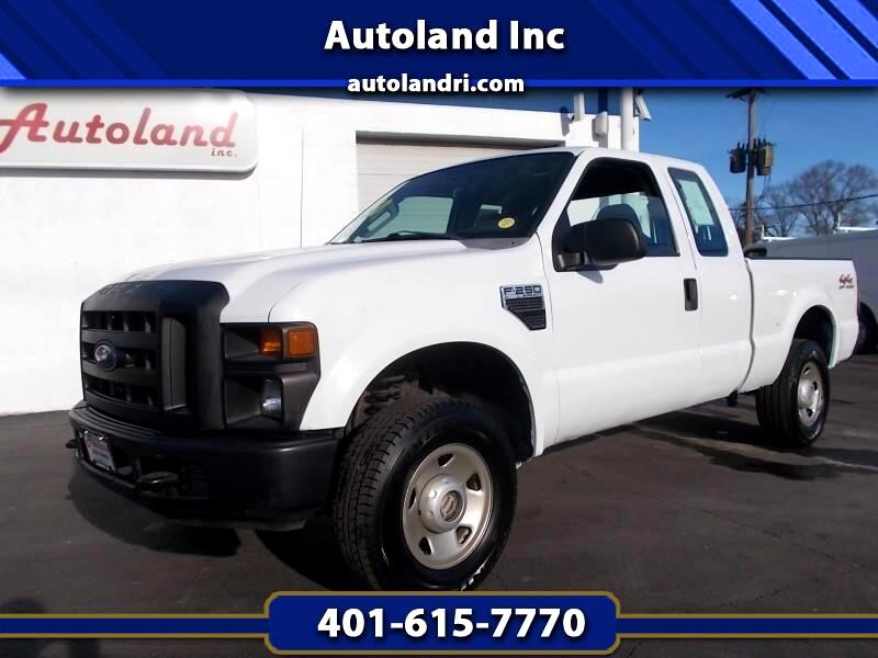 Ford F-250 SD XLT SuperCab 4WD 2008