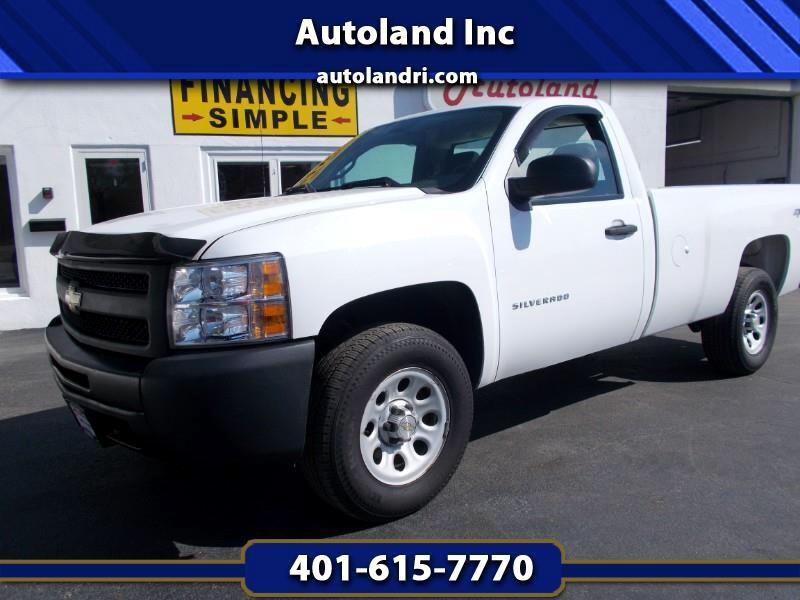 Chevrolet Silverado 1500 Work Truck Long Box 4WD 2013