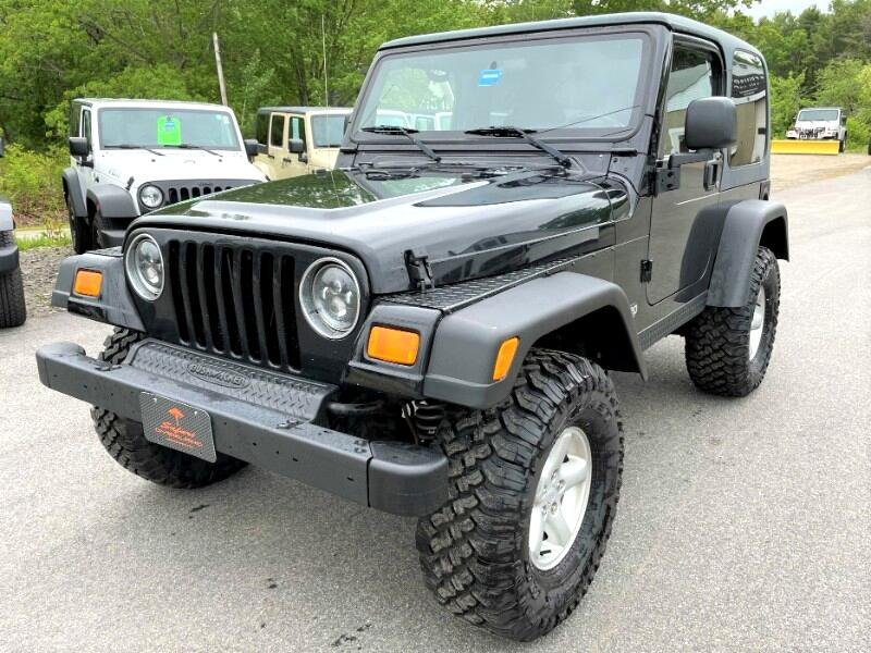 Jeep Wrangler X 2004
