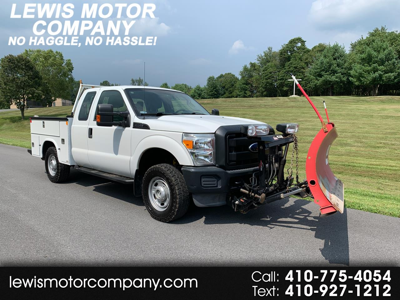 2011 Ford F-250 SD XLT SuperCab Long Bed 4WD