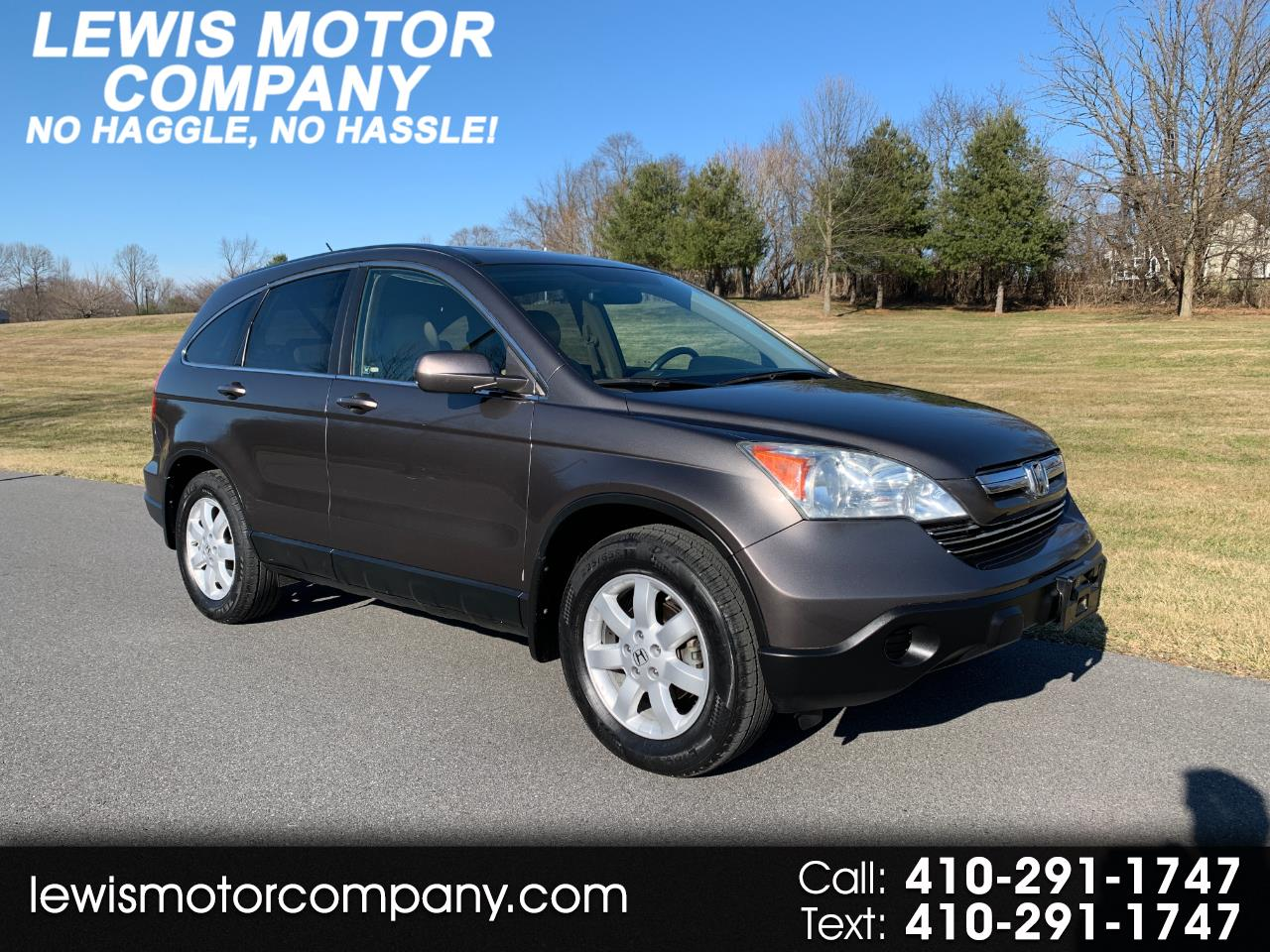 Honda CR-V EX-L 2WD 5-Speed AT 2009