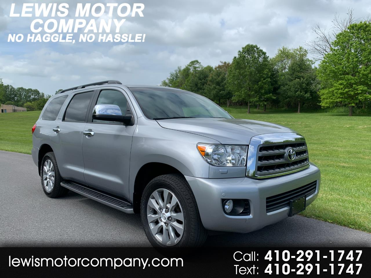Toyota Sequoia Limited 4WD 2015