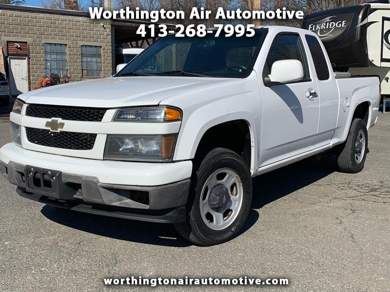2011 Chevrolet Colorado 4WD Ext Cab Work Truck