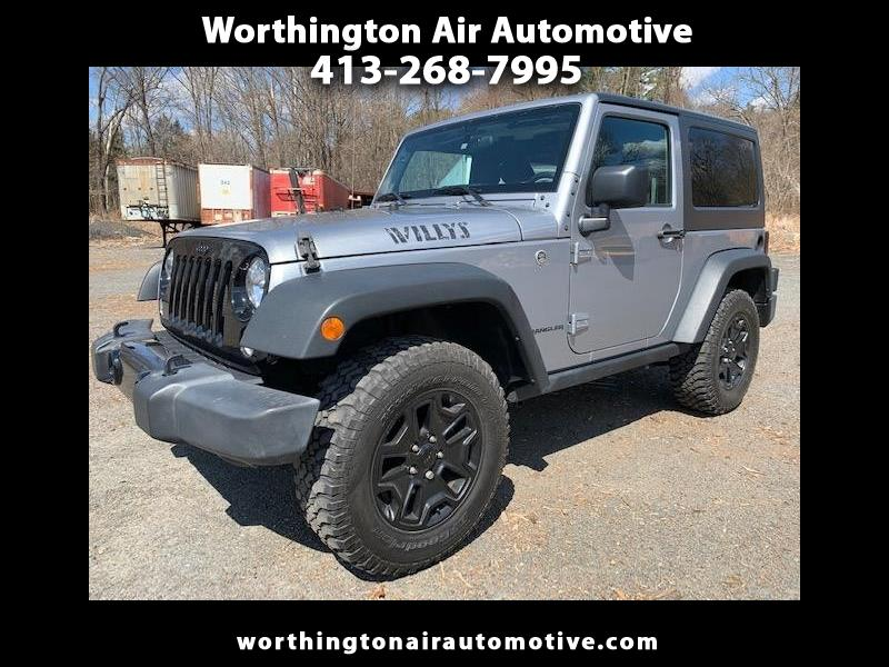 2016 Jeep Wrangler 4WD 2dr Willys Wheeler