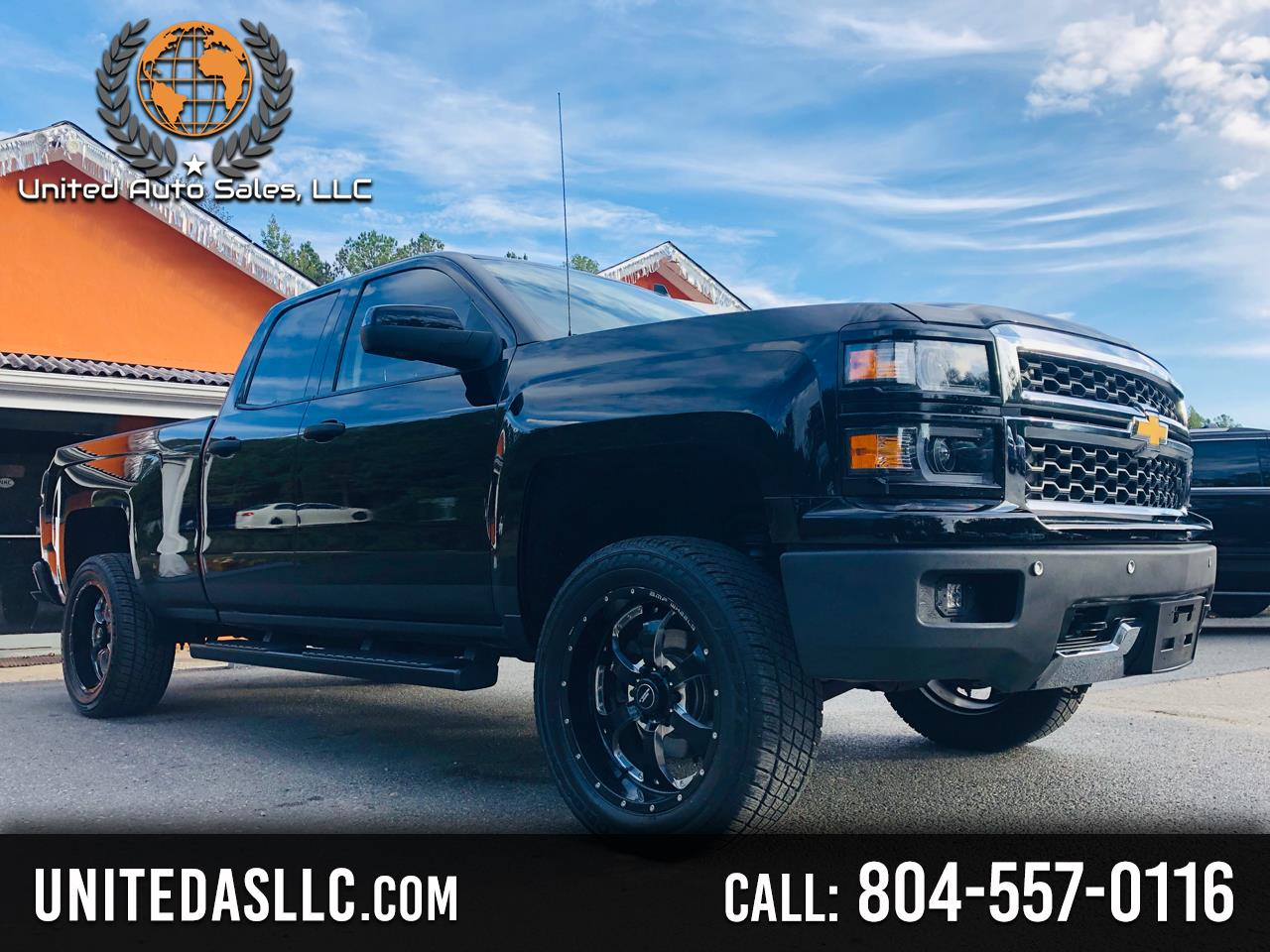 Chevrolet Silverado 1500 LTZ Ext. Cab Short Box 4WD 2014