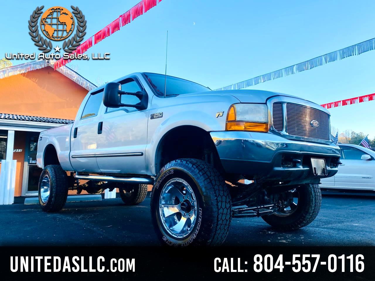 Ford F-250 SD XLT Crew Cab Short Bed 4WD 2000