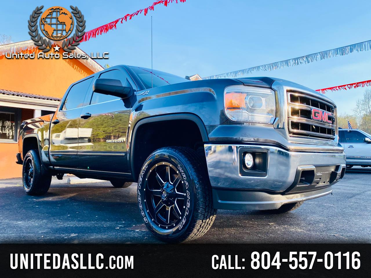 GMC Sierra 1500 SLE Crew Cab Long Box 4WD 2015