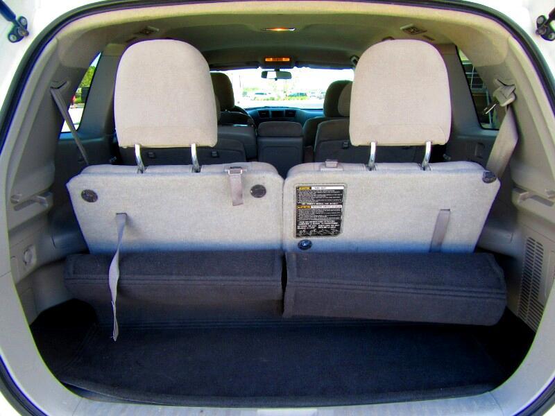 2012 Toyota Highlander 2WD 4dr 4-Cyl w/3rd Row (Natl)