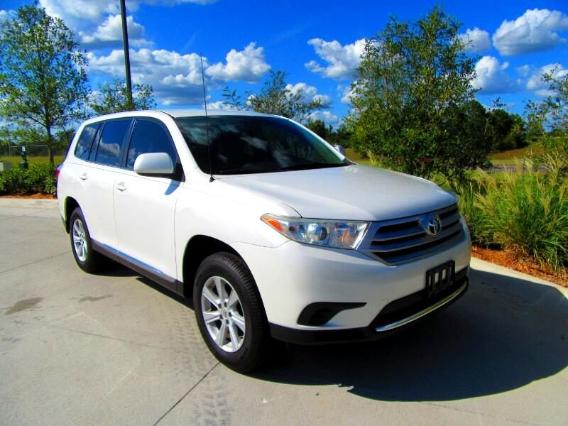 2012 Toyota Highlander 2WD 4dr 4-Cyl w/3rd Row (Natl)
