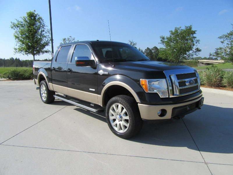 Ford F-150 King-Ranch SuperCrew 5.5-ft. Bed 4WD 2012