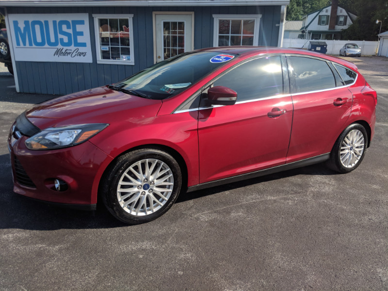 2014 Ford Focus Titanium Hatch