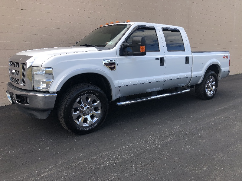 Ford F-250 SD XLT Crew Cab Long Bed 4WD 2009